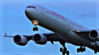 Dusk Arrivals at London Heathrow Airport, RWY27L | 07/02/18
