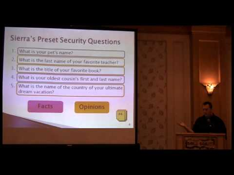 A Review of Real World Security Questions & Answers