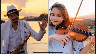 Hallelujah - Violin and Sax Cover - Karolina Protsenko & Daniele Vitale