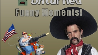 Unturned 3 0 Funny Moments Cheats Sentrys Americans And Mexicans