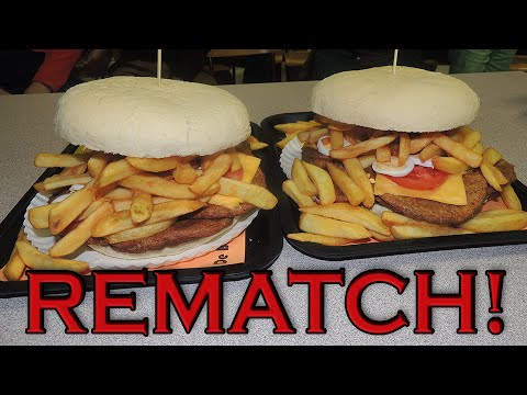 Belgium's BALENSE REUS Burger Challenge!! (REMATCH)