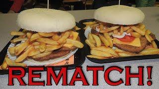 Belgium's Balense Reus Burger Broodjeshoek's 7lb Challenge (Rematch)