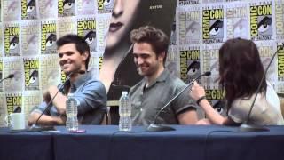 Comic Con 2012 - 'Twilight Saga: Breaking Dawn pt 2' Panel Part 1 of 3