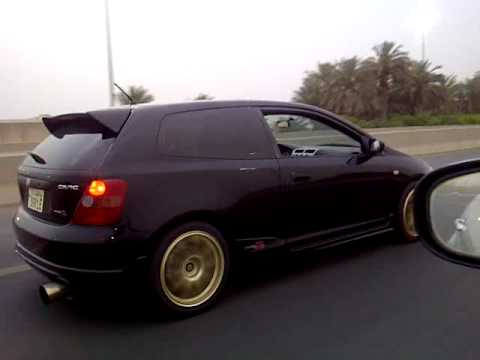 Honda civic ep3 Type R 2003 Kuwait - YouTube