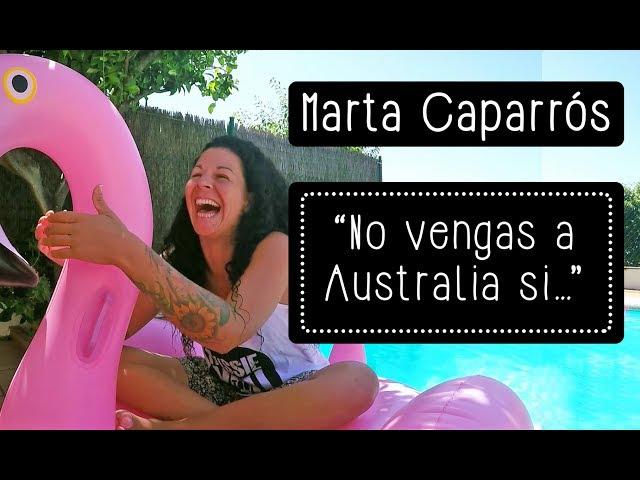 Marta Caparrós: \