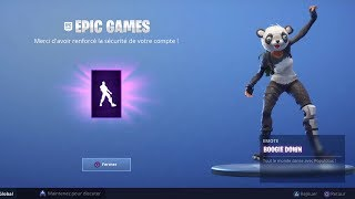 """SEE THE DANSE """"BOOGIE DOWN"""" FREE ON FORTNITE Battle Royale!"""