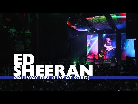 Ed Sheeran - 'Galway Girl' (Live At Capital Up Close)