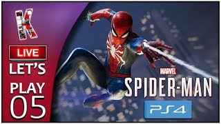 Marvel's Spider-Man - Live Let's Play #05 [FR] Histoire 53%-68%