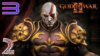 God of War 2 RPCS3 прохождение на геймпаде часть 2 Отобрали силу и работу Бога Войны