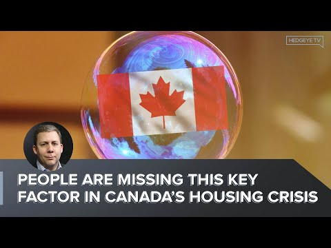 People Are Missing This Key Factor In Canada's Housing Crisis