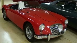 1958 MGA Roadster Sports Car
