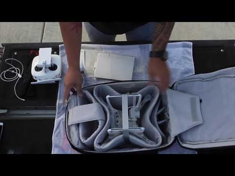 DJI Phantom 4 Backpack Unboxing & Review