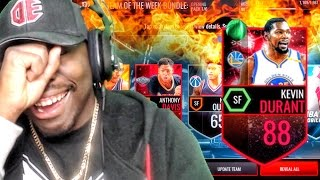 48 hour durant team of the week pack opening nba live mobile 16 gameplay ep 37