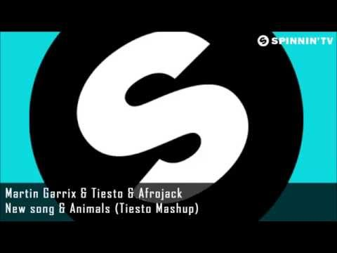 Martin Garrix & Afrojack - Turn Up The Speakers & Animals (Tiësto set) UMF 2014
