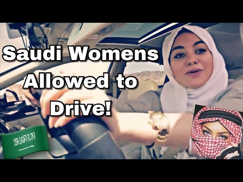 Saudi Arabian Women Driving Rap | راب بنت السعودية (Translation in description)
