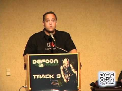 DEFCON 18: The Law of Laptop Search and Seizure (Video Only)  4/4