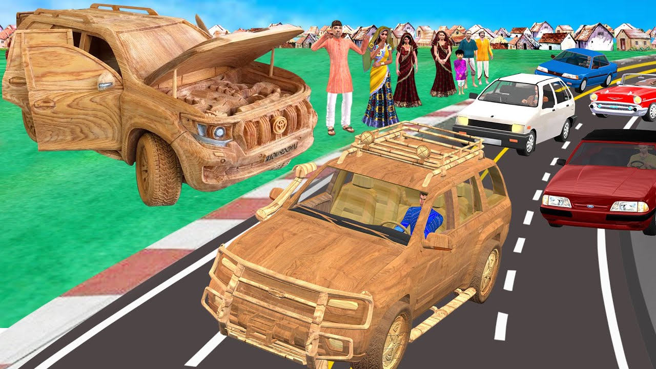 लकड़ी कार दौड़ | Wooden Car Race | Comedy Video Stories in Hindi | Funny Comedy Video