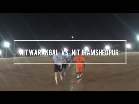 Highlights NIT Warangal (4) VS NIT Jamshedpur (0) || All India Inter NIT Cup 2015, NIT Warangal