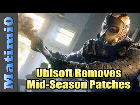 Ubisoft Removing Mid-Season Reinforcements - Rainbow Six Siege