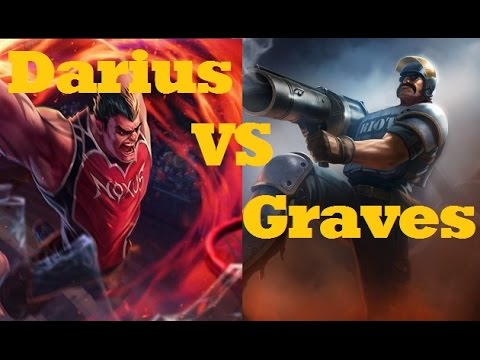 Darius VS Graves - League of Legends Live Commentary