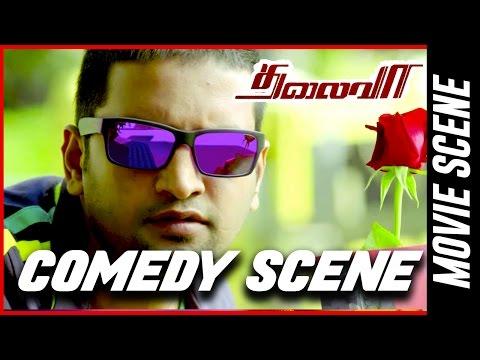 Thalaivaa- Comedy Scene   Ilayathalapathy Vijay   Amala Paul   Sathyaraj