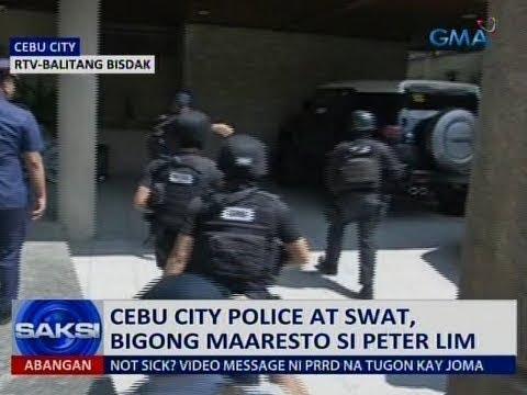 Saksi: Cebu city police at SWAT, bigong maaresto si Peter Lim