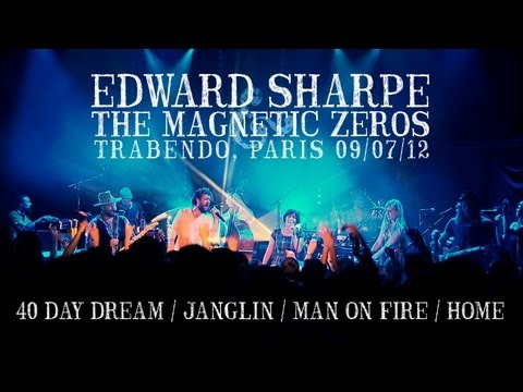 Edward Sharpe & The Magnetic Zeros live in Paris