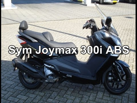 SYM Joymax 300i ABS / GTS 300i ABS walk around and ride