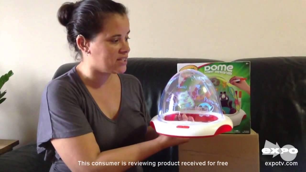Crayola dome light designer review crayons dome light designer