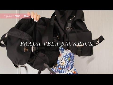 FAKE vs REAL // 第3集: Prada Vela Backpack