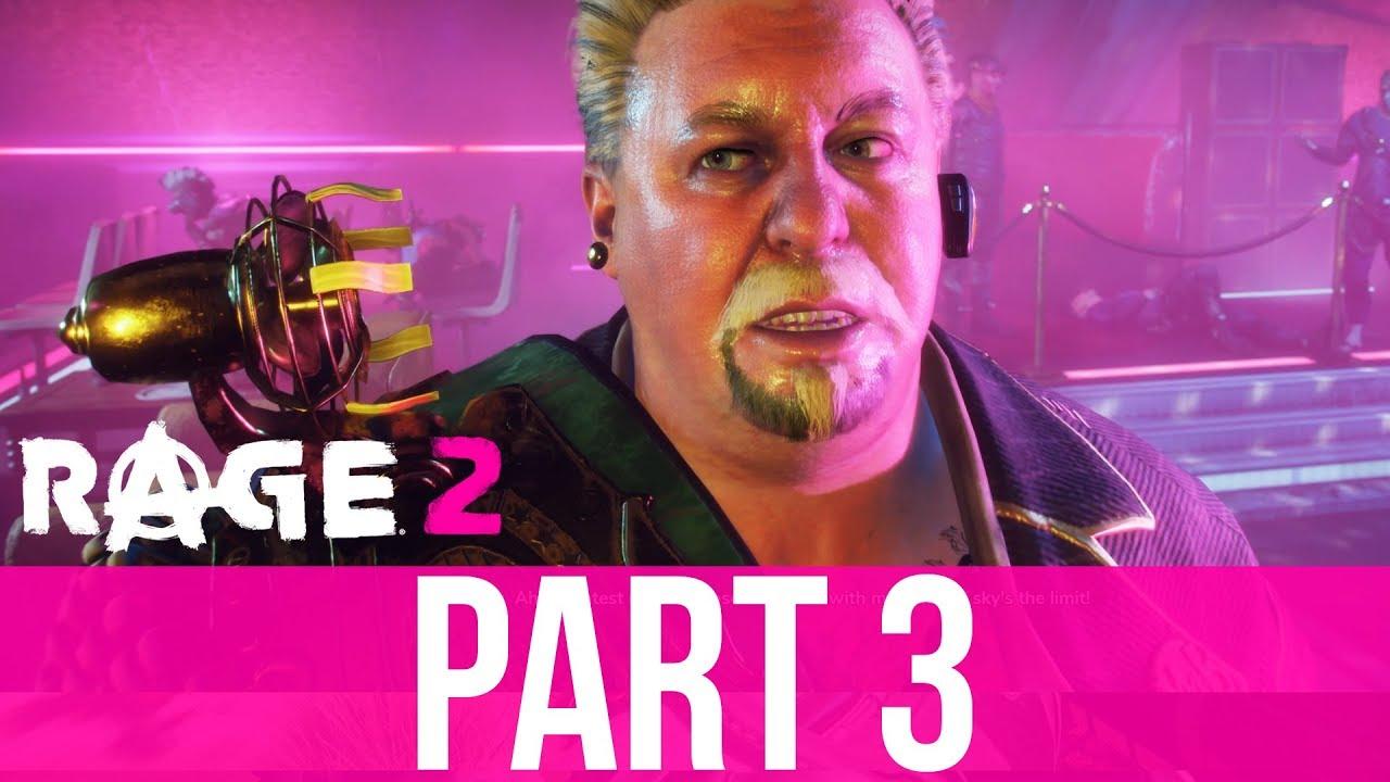 RAGE 2 Gameplay Komplettlösung Teil 3 - WASTELAND CELEBRITY (Vollständiges Spiel) + video
