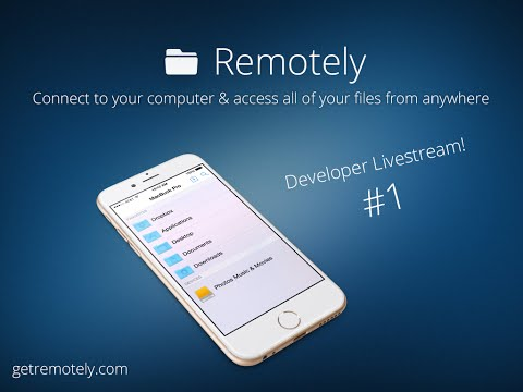 Remotely Dev Stream #1 Search UI