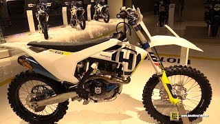 2018 Husqvarna FC 450 - Walkaround - 2017 EICMA Milan Motorcycle Exhibition