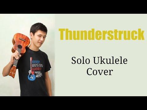 Thunderstruck By AC/DC -- Solo Ukulele Cover
