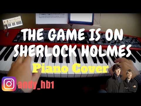 Sherlock Theme BBC / The Game Is On / Piano Cover