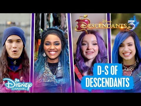 Descendants 3 | D To S Of Descendants! 💜 | Disney Channel UK