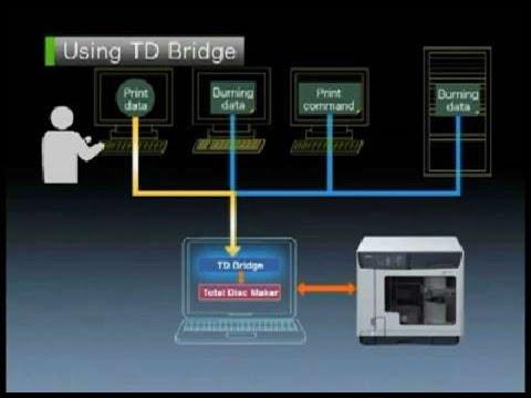 Epson Discproducer | TD Bridge Software