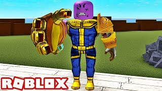 Ich bin BECOMING THANOS! Roblox