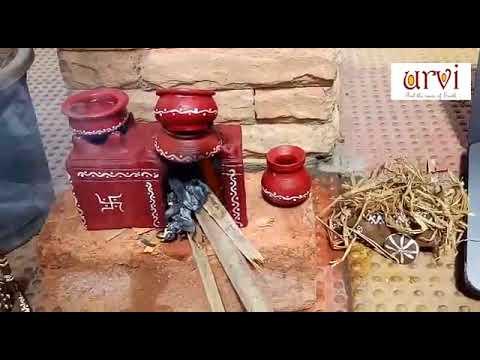miniature cookingurvi terracotta using clay / terracotta