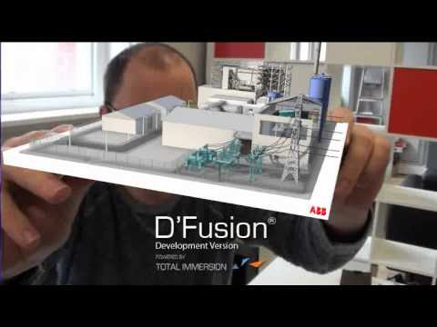 augmented reality power industry demo youtube