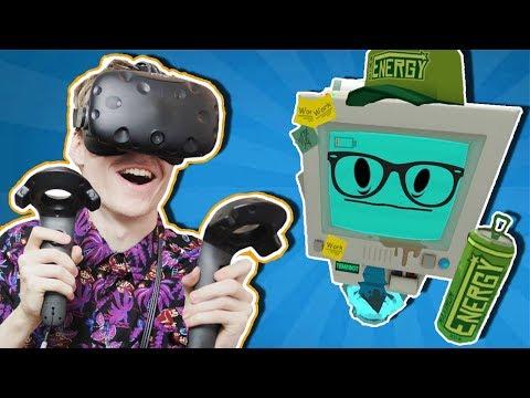 VIRTUAL REALITY FIDGET SPINNER!? | Job Simulator VR: Infinite Overtime (HTC Vive Gameplay