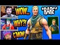 """STREAMERS REACT TO *RARE* """"RANGER"""" SKIN COMING BACK! Fortnite FUNNY & SAVAGE Moments"""