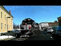 FGLK GC-2 Crosses Through Main Street in Canandigua, NY On Valentines Day!!!!!!!!!!!!!