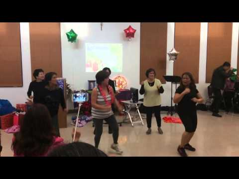 El Shaddai West Covina chapter Christmas Party Dec 20 2014