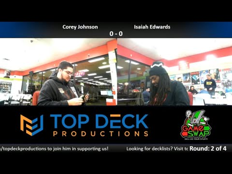 Standard w/ Commentary 1/3/18: Corey Johnson (Jund Counters) vs. Isaiah Edwards (Temur Energy)