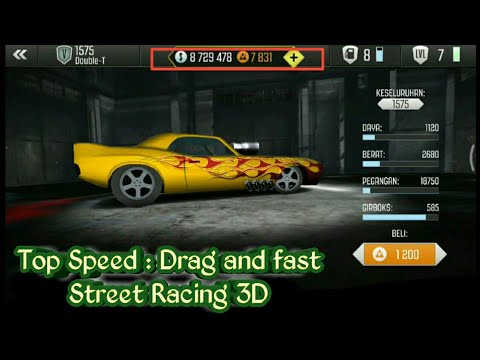 Game Top Speed Game Cheat : Drag And Fast Street Racing 3D | Get Unlimited Cash And Gems