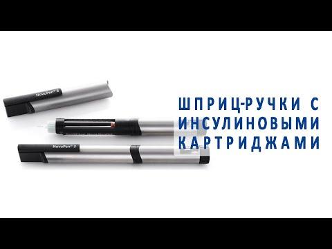 Шприц-ручки с инсулиновыми картриджами