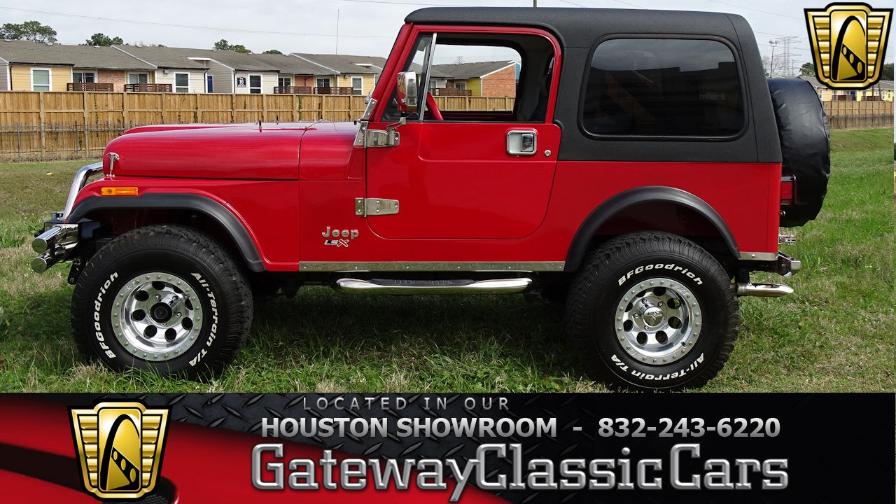 1985 Jeep Wrangler CJ7 Gateway Clic Cars #650 Houston Showroom ...