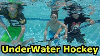 Kids HocKey Underwater Hockey Game