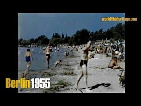 Berlin 1955 color - Wannsee - Grunewaldsee